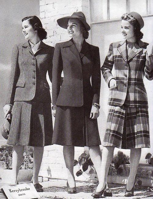 1940's women's suits