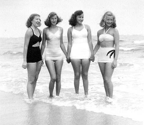 1940s vintage swimsuit images