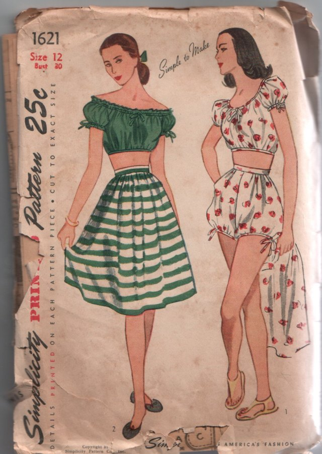 1940s vintage summer outfits for women