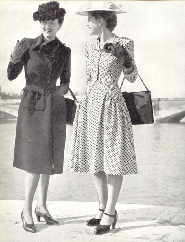 1940s rayon dresses