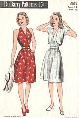 1940s vintage sundress