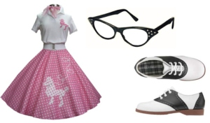1950s outfit