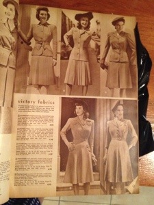 1940s Women's Fashion