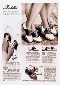saddle shoe ad
