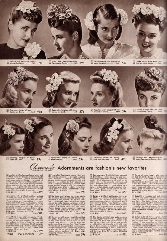 hair 1940s