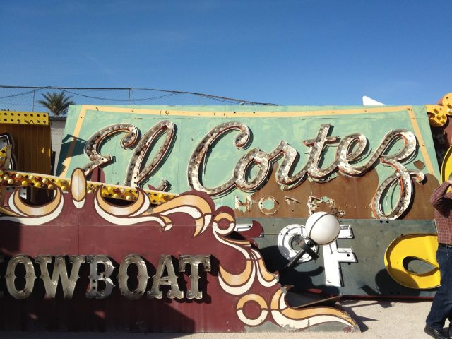 more sign from neon boneyard