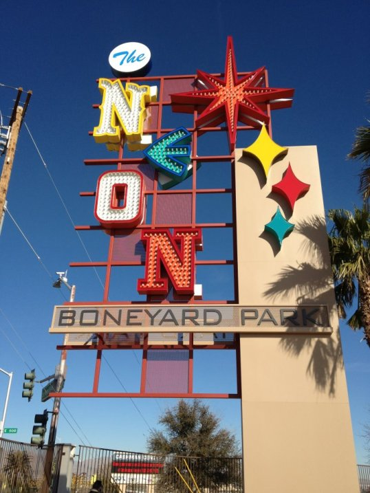 Neonboneyard main sign