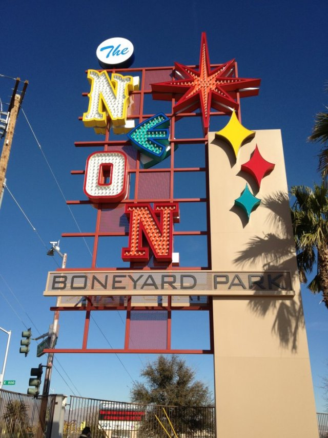 Neonboneyard main sign