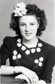 vintage hair flowers
