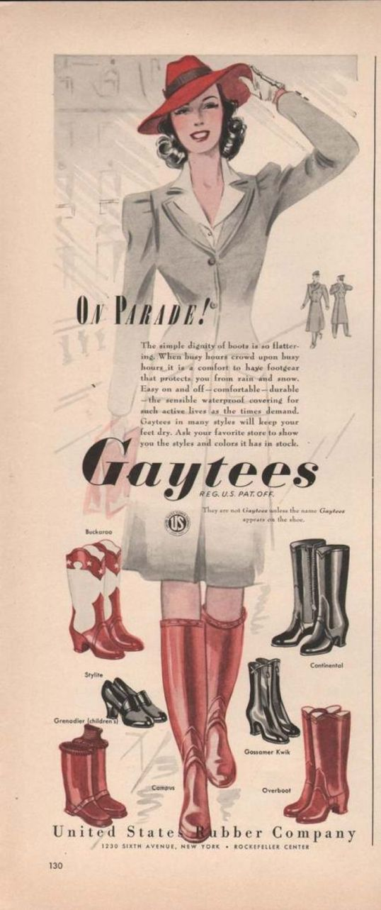 winter boots 1941