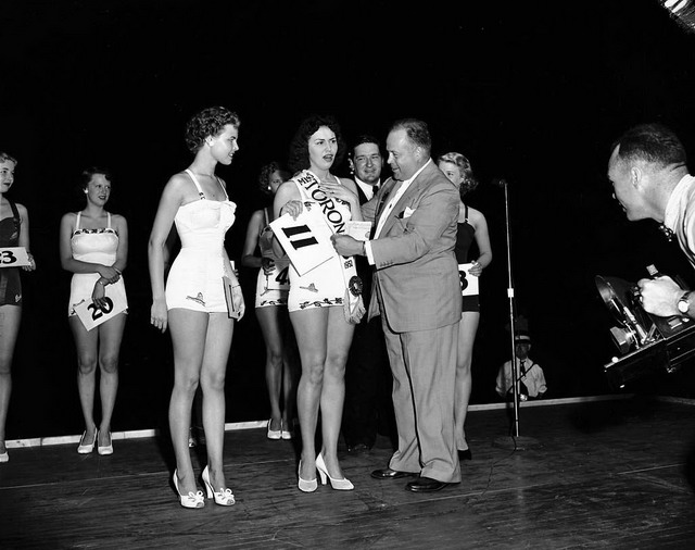 1957 miss toronto city of toronto