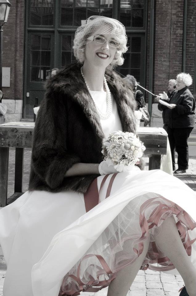 1950's vintage wedding