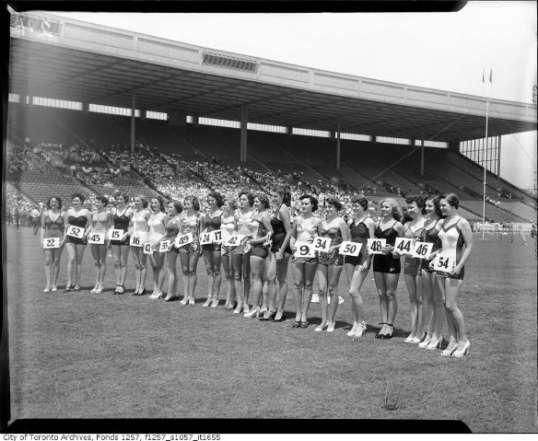 miss toronto 1950