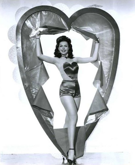 Valentines Day pinup