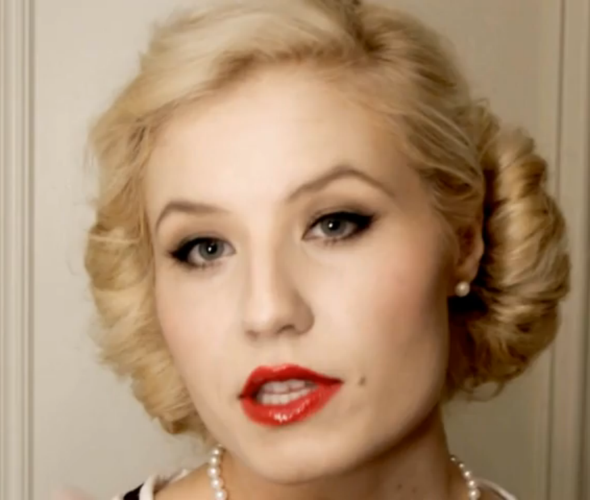 50s style hair and makeup my 4 favorite vintage hair tutorial the 1200