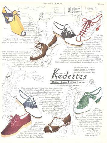 1930's keds