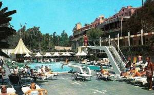 Beverly Hills Hotel Sand and Pool Club  history