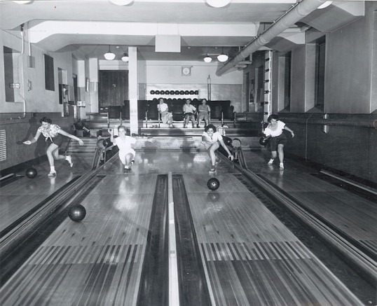 1940's bowling