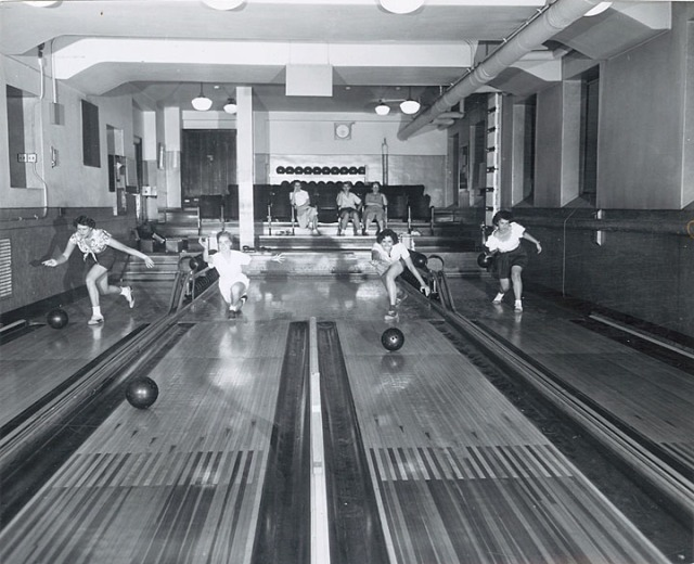 1940's bowling
