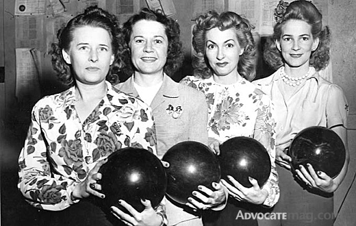 vintage bowling image
