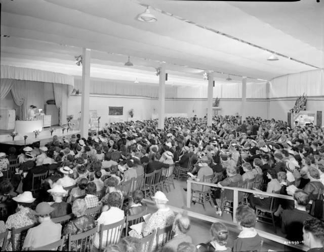 CNE 1940 cooking demo Toronto