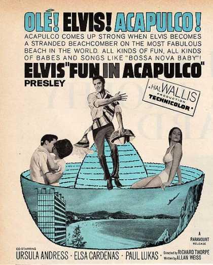 Elvis Fun in Acapulco