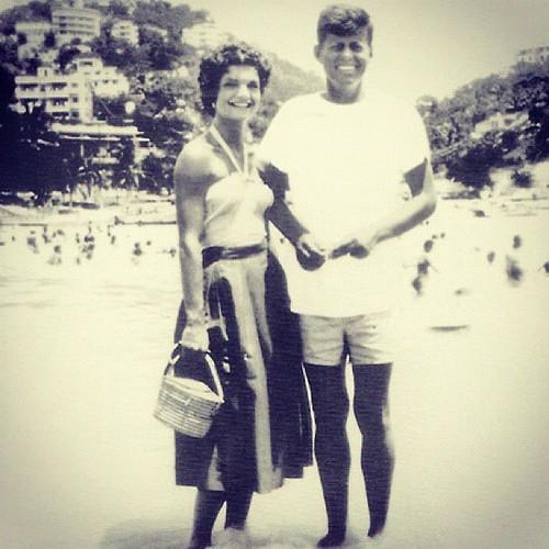 Kennedy's honeymoon in Acapulco
