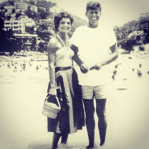 Kennedy's honeymoon in Acapulco