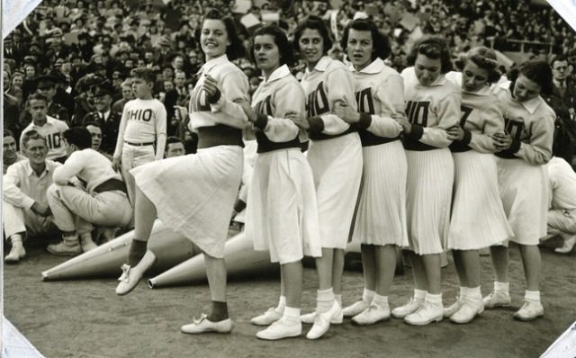 1938 Cheerleaders