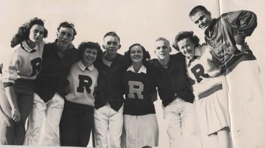 1950's cheerteam