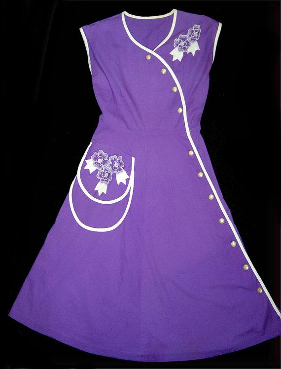 1950's house dress