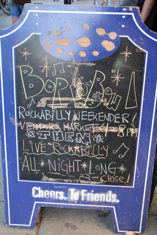 Rockabilly Bop N Bowl