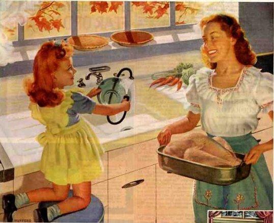 1940's thanksgiving