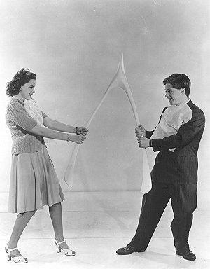 Judy Garldand and Mickey Rooney