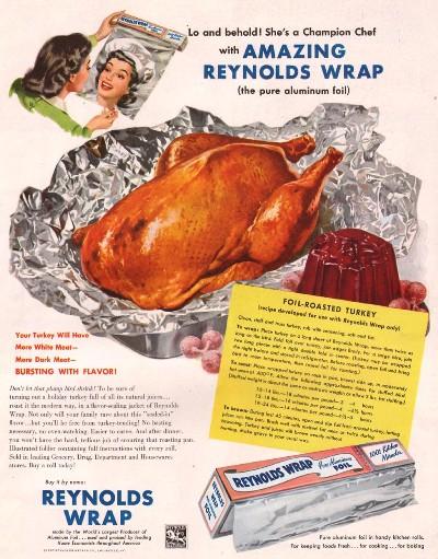 1950's vintage ad