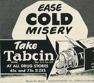 1940s cold ad