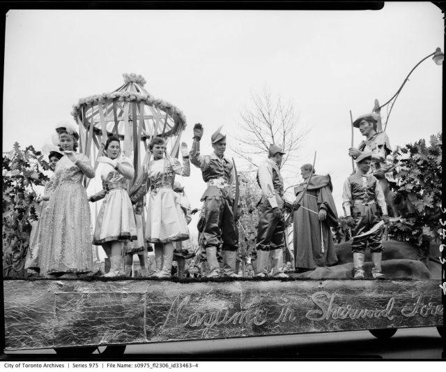 Toronto Santa Claus Parade 1956