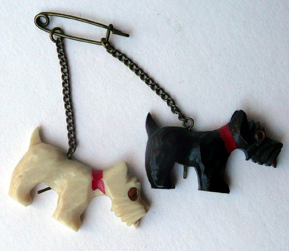 Bakelite Scotty Dogs
