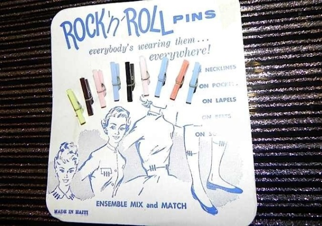 1950s Vintage Clothing Pins