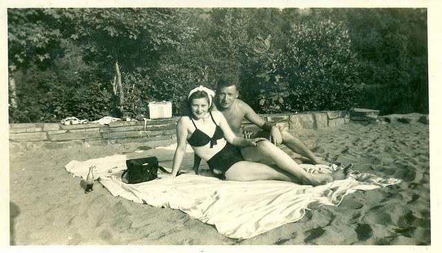 1940s couple