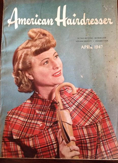1940s Hairdressing magazine
