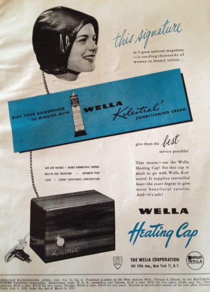1940's vintage hairdressing