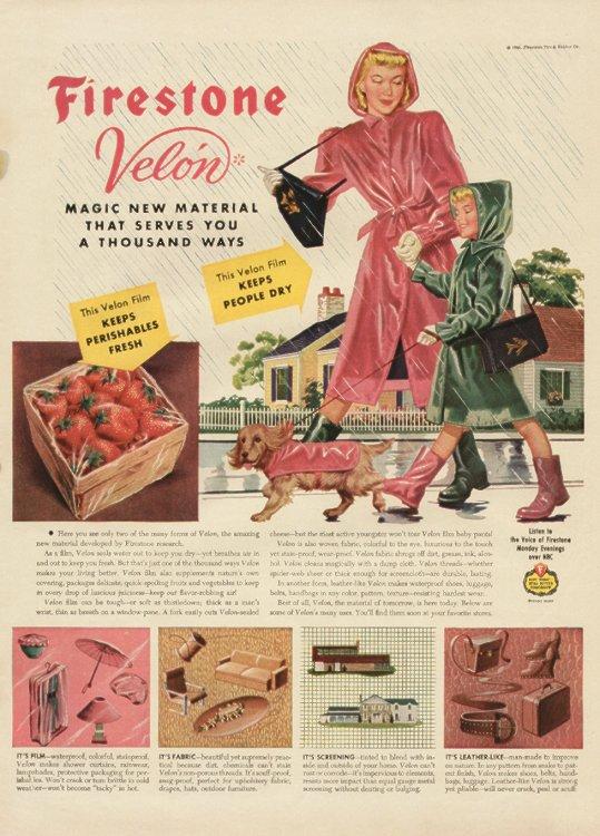 1950s raincoat
