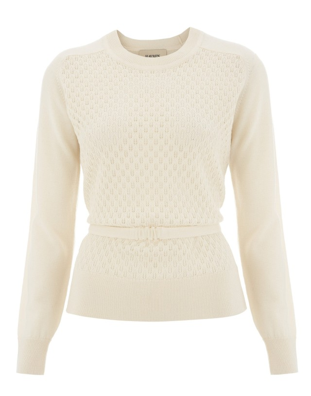 Bow Belt Jumper