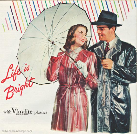 plastics-vinylite 1940s