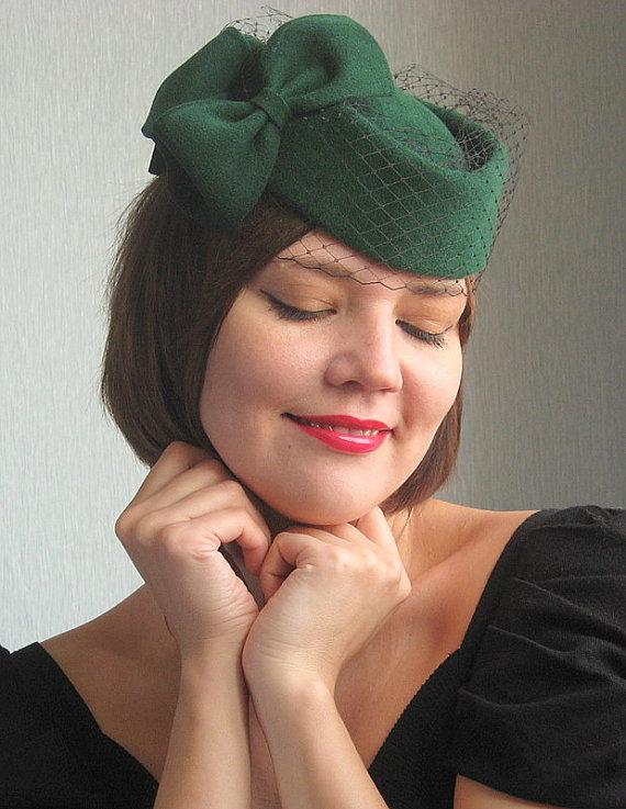 1950s pillbox hat