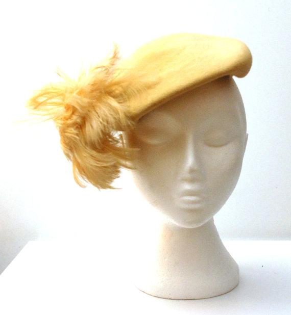 1950s wool felt hat