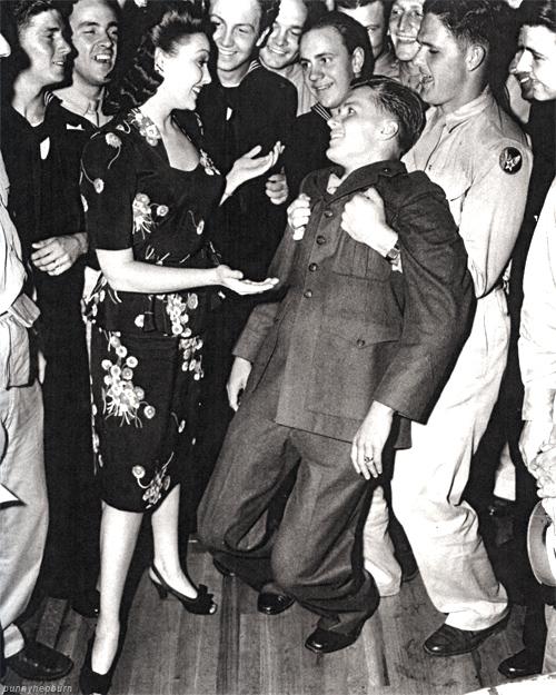 1940s swing dance