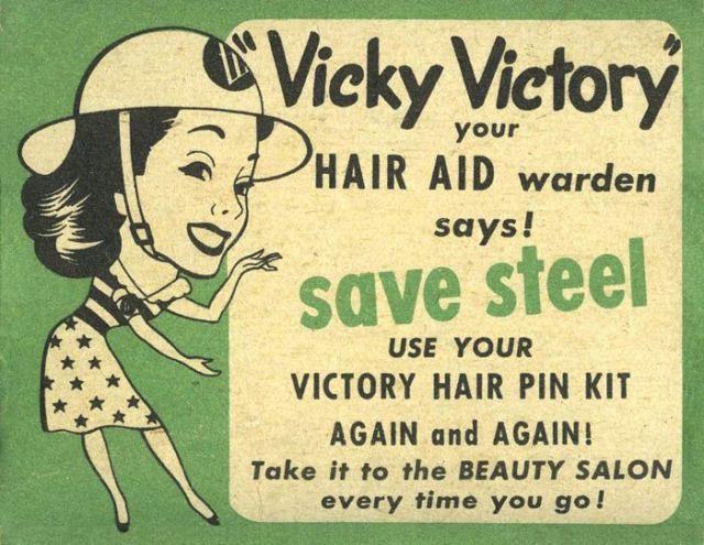 1940s hairpins