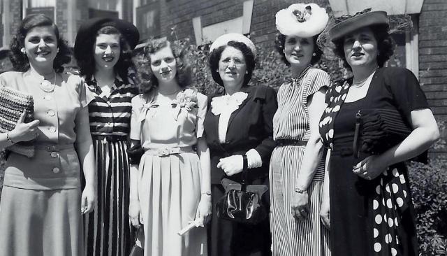 1940s vintage ladies